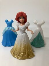 Polly Pocket Disney Princess Ariel Little Mermaid MagiClip Dresses Lot