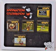 Disney 2018 Animation Celebration Goofy How To 3-D 5 Pin Box Set LE 300 NEW CUTE