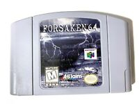 Forsaken 64 - Nintendo 64 N64 Game Tested + Working & Authentic!