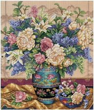 Counted Cross Stitch Kit Oriental Splendor Dimensions Gold Collection