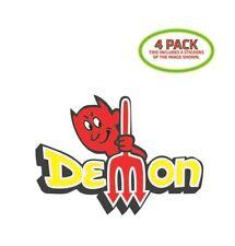 Dodge Demon Sticker Vinyl Decal 4 Pack