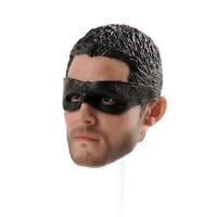 """Stephen Amell 1/6 Head Carving Sculpt Figure Model Male Arrow for 12"""" Action Toy"""