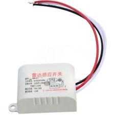220V Sensor De Movimiento Automático Infrarrojo Cuerpo Interruptor de detección PIR sensor de radar de microondas