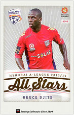 2013-14 A League Trading Cards All Stars AS8 Bruce Djite (Adelaide United)