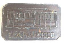 San Francisco Boucle de ceinture style PLAQUE AFFICHAGE Vintage American Retro Classique