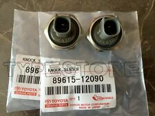2Pcs Genuine Denso Knock Sensor 89615-12090 for Toyota Lexus Avalon Camry Sienna