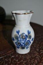 Vintage Russian  Porcelain Blue and White Vase