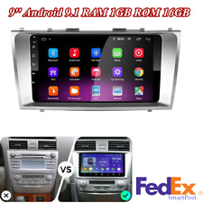 For 2007-2011 Toyota Camry Stereo Radio Player Gps Navigation 9' Android 9.1 Us