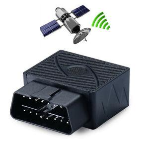 Mini OBD GPS Car SUV Tracker Anti-theft Protection Alarm Device GSM GPRS 16PIN