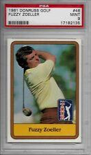 1981 Donruss Golf #46 Fuzzy Zoeller PSA 9 Mint $$$$
