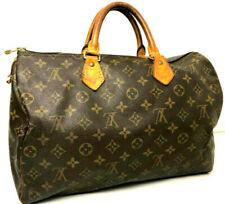 Louis Vuitton Monogram Speedy 35 Doctor Mini Boston Hand bag Brown Auth M41524