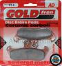 Cagiva WMX 250 Front Sintered Brake Pads 1989 - Goldfren - WMX250 WMX-250
