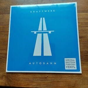 KRAFTWERK AUTOBAHN  LP 180GM BLUE VINYL   MINT