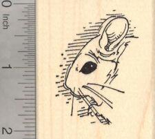 Chinchilla Rubber Stamp, in Profile H22002 WM