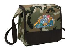 Cats Lunch Bag CAMO Cat Lunchbox Cooler ADJUSTABLE SHOULDER BAG
