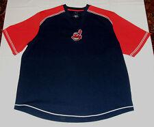 Cleveland Indians Batting Practice Jersey Shirt Men's XL MLB Genuine Merchandise