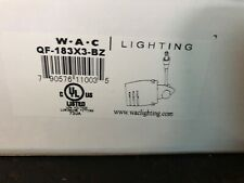 "WAC Lighting Super Ego - Quick Connect Fixture, 3"" Extension - QF-183X3-DB"