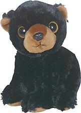 Belus Black Bear Big Eye Plush 9in