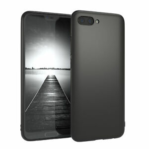 For Huawei Honor 10 cover Silicone Cover Protection Bag Slim Matt Black