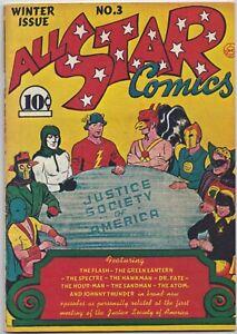 All Star Comics #3  1974 Reprint  7.0