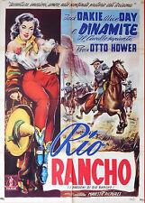 MANIFESTO, RIO RANCHO (DYNAMITE) JACK DAKIE, ALICE DAY, OTTO BROWER, WESTERN USA
