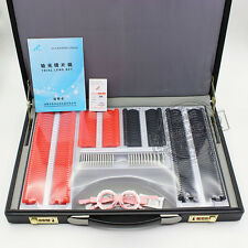 Trial Lens Set 266PCS Optical Trial Lens Case Plastic Rim Leather 1 Case