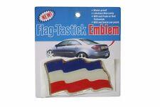 YUGOSLAVIA COUNTRY FLAG BUMPER STICKER FLAG-TASTICK EMBLEM..SIZE: 3.5 X 2 INCH