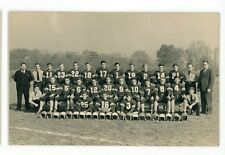 RPPC Amateur Children's High School? FOOTBALL Team Vintage Real Photo Postcard