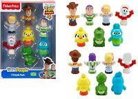 Fisher Price Little People Toy Story 4 Figure 7 Pack Giftset Ages 2+ Toy Play