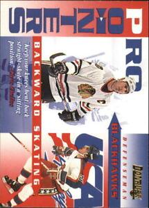 1995-96 Donruss Pro Pointers #4 Chris Chelios - NM-MT