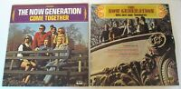 Now Generation Jimmy Buffett  2 Vinyl LPs Hits and Come Together Pre Parrothead