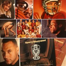 Sports Illustrated Enduring Sportsmen Of The Year Ltd Edition Tribute Book