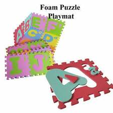 Alphabets Small Capital Play mat Puzzle Educational Early Study Toy Soft Foam