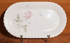 """Mikasa Bone China APRIL ROSE 12"""" Oval tray, A7053, Excellent"""
