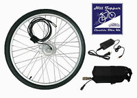 Lithium Battery Electric Bike Kit - 12 MILE BATTERY INCLUDED - Easy Installation