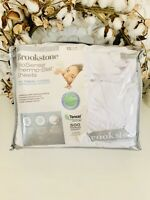 Brookstone Biosense 500-Thread-Count Deep Pocket King Sheet Set in white