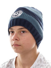 O`Neill Beanie Knit Beanie Ski Hat Boys All Year Blau Stripes Knitted