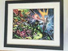 Framed DC New 52 Comic Cover Posters - Many Others Available - Green Lantern