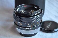 Canon FD 55 mm f/1.2 s.s.c objetivamente