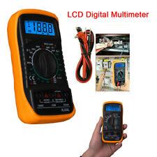 Xl830l Digital Lcd Display Test Acdc Tester Voltmeter Ammeter Ohm Multimeter