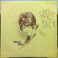 Trilly Cole - S/T LP VG+ Private 1970S Nashville TN Country Rock 1st Signed