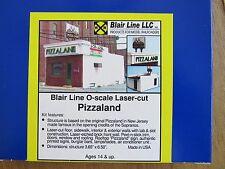 Blair Line O Scale Pizzaland Laser Cut Kit  # 296 Bob The Train Guy