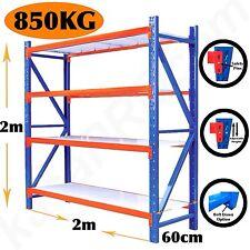 Steel Shelving Garage Warehouse Metal Storage Shelf Heavy Duty Racks 800kg Kasa