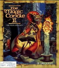 Magic Candle 2 II Microdaft PC DOS new CD