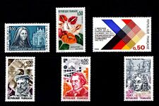 LOT DE TIMBRES N° 1737/1738/1739/1744/1745/1748 NEUF**