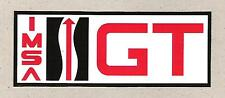 IMSA GT International Motor Sports Association Sticker, Sports Car Racing Decal