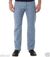 New Mens Diesel Straight Leg Viker L. 32 Blue Button Fly  Denim Jeans