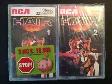 HAIR ORiginal Soundtrack - Double New Old Stock Cassette Sealed