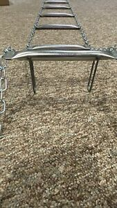 Life Ladder, AMERICAN LaFRANCE. 25' long, new open box, 23 rung all steel!
