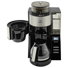 Melitta AromaFresh 1021-02, schwarz, Filterkaffeemaschine, integriertes Mahlwerk